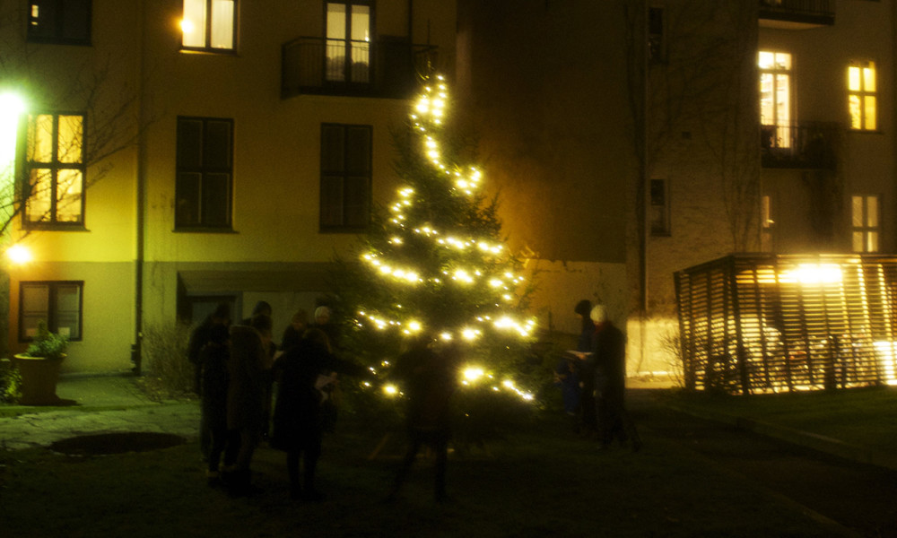 Tenning av juletreet i Meyerhagen torsdag 1.12 kl. 18.00
